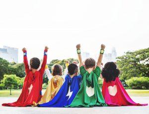 disfraces casero superheroes