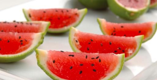 frutas como manualidades para cumpleaños infantiles