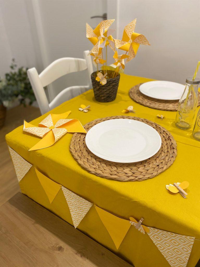 manualidades para cumpleaños infantiles yellow